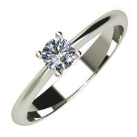 Годежен Пръстен бяло злато с диамант Cante 0,17 ct. 631