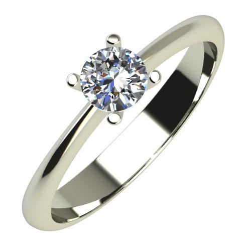 Годежен Пръстен бяло злато с диамант Cante 0,25 ct. 611