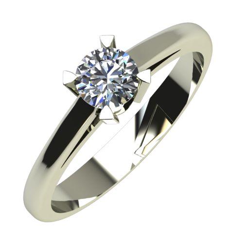 Годежен Пръстен бяло злато с диамант Ether 0,25 ct. 737