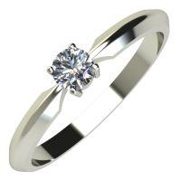 Годежен Пръстен бяло злато с диамант Impulse 0,17 ct. 604