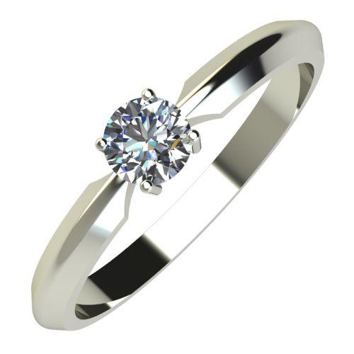 Годежен Пръстен бяло злато с диамант Impulse 0,25 ct. 618