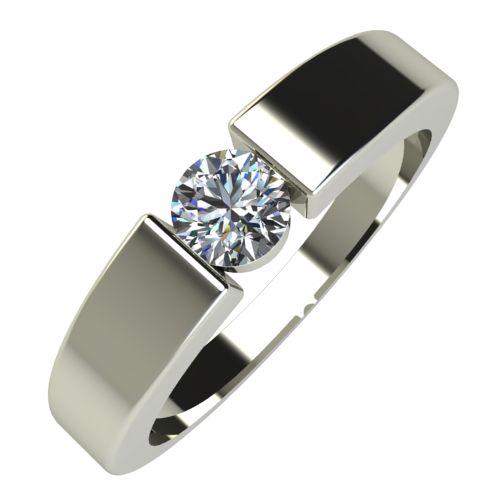 Годежен Пръстен бяло злато с диамант Safe 0,17 ct. 588