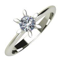 Годежен Пръстен бяло злато с диамант Star 0,25 ct. 633