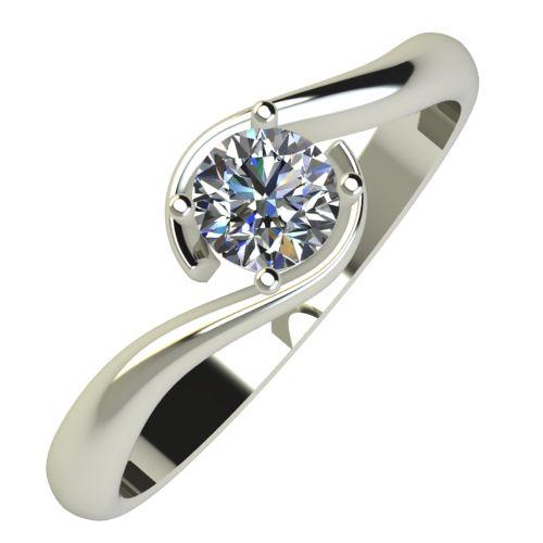 Годежен Пръстен бяло злато с диамант Unity 0,25 ct. 807