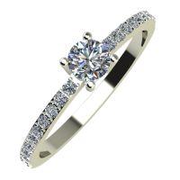 Годежен Пръстен бяло злато с диаманти Varie 0,30 ct. 835