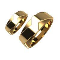 Брачни Халки жълто злато модел Kinds кат.номер 5164