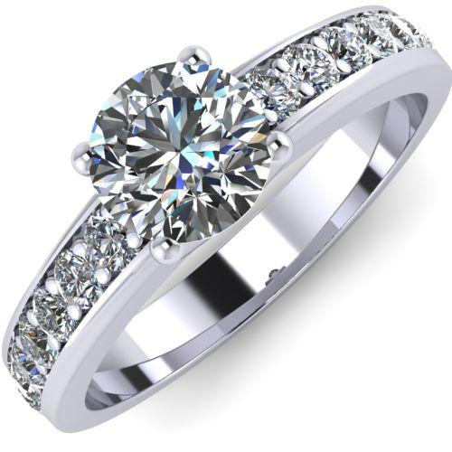 Годежен Пръстен бяло злато с диамант Varie 0,42 ct. 1001