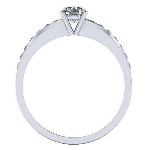 Годежен Пръстен бяло злато с диамант Varie 0,42 ct. 1001 B