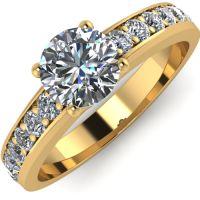 Годежен Пръстен жълто злато с диамант Varie 0,42 ct. 2001