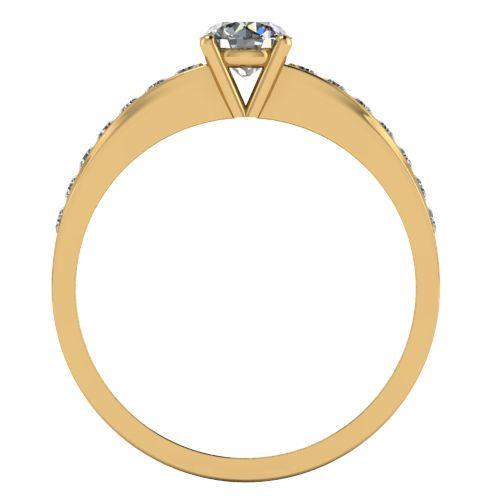 Годежен Пръстен жълто злато с диамант Varie 0,42 ct. 2001 b