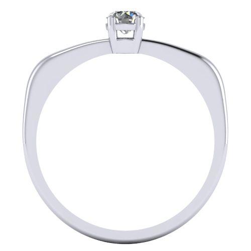 Годежен Пръстен бяло злато с диамант Fill 0,17 ct. 2005 B
