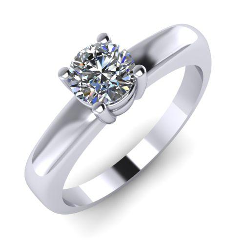 Годежен Пръстен бяло злато с диамант Fill 0,25 ct. 2006