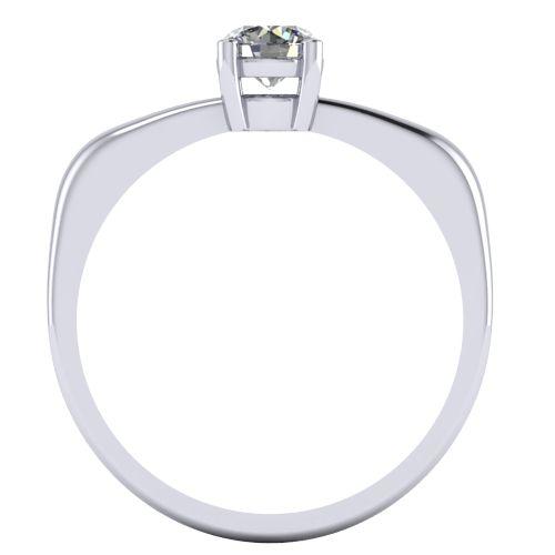 Годежен Пръстен бяло злато с диамант Fill 0,25 ct. 2006 B