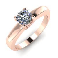 Годежен Пръстен розово злато с диамант Fill 0,25 ct. 2016