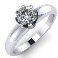 Годежен Пръстен бяло злато с диамант Flores 0,25 ct. 2028