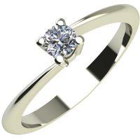 Годежен Пръстен бяло злато с диамант Chase 0,07 ct. 2048