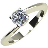 Годежен Пръстен бяло злато с диамант Chase 0,17 ct. 2050