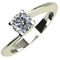Годежен Пръстен бяло злато с диамант Chase 0,25 ct. 2051