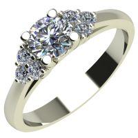 Годежен Пръстен бяло злато с диамант Grape 0,26 ct. 2088