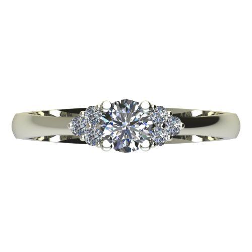 Годежен Пръстен бяло злато с диамант Grape 0,26 ct. 2088 a