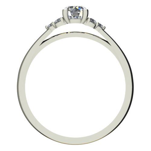 Годежен Пръстен бяло злато с диамант Grape 0,26 ct. 2088 b