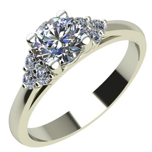 Годежен Пръстен бяло злато с диамант Grape 0,34 ct. 2089