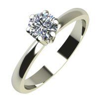 Годежен Пръстен бяло злато с диамант Nova 0,07 ct. 2116