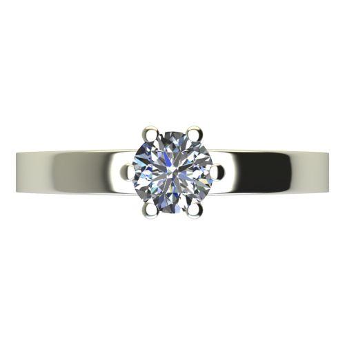Годежен Пръстен бяло злато с диамант Piece 0,25 ct. 2115 a
