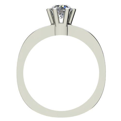 Годежен Пръстен бяло злато с диамант Piece 0,25 ct. 2115 b