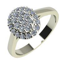Годежен Пръстен бяло злато с диамант Snowy 0,39 ct. 2094