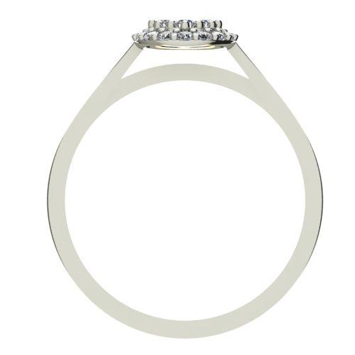 Годежен Пръстен бяло злато с диамант Snowy 0,28 ct. 2094 b