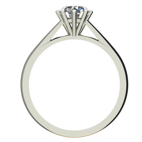 Годежен Пръстен бяло злато с диамант Tulip 0,25 ct. 2126 b