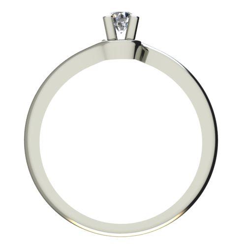 Годежен Пръстен бяло злато с диамант Unity 0,07 ct. 2130 b
