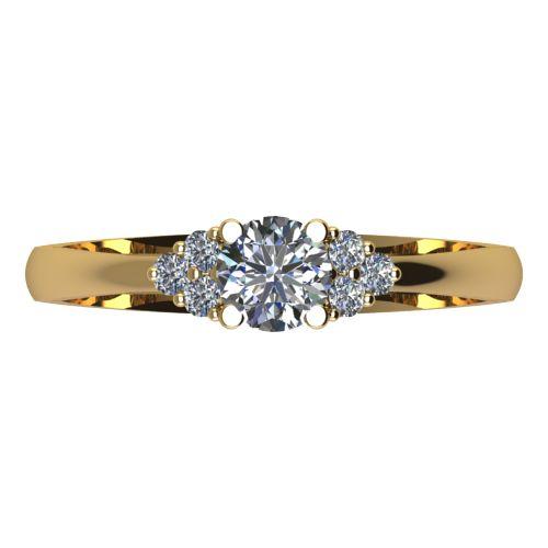Годежен Пръстен жълто злато с диамант Grape 0,26 ct. 2090 a