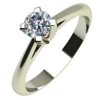 Годежен Пръстен бяло злато с диамант Ether 0,07 ct. 2143