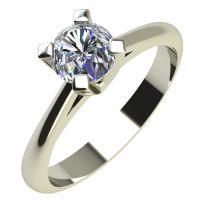 Годежен Пръстен бяло злато с диамант Ether 0,17 ct. 2145
