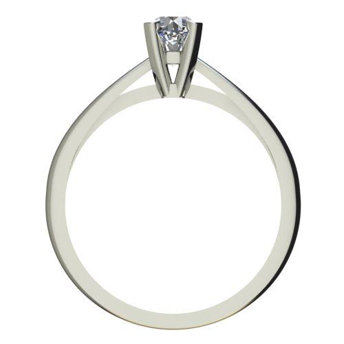 Годежен Пръстен бяло злато с диамант Ether 0,17 ct. 2145 b