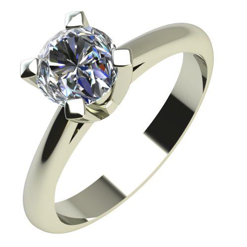 Годежен Пръстен бяло злато с диамант Ether 0,25 ct. 2146