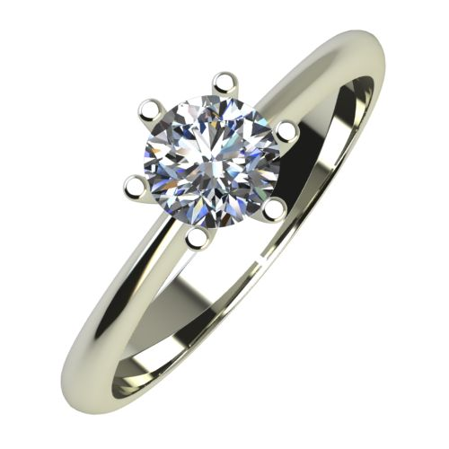 Годежен Пръстен бяло злато с диамант Cante 0,25 ct. 726