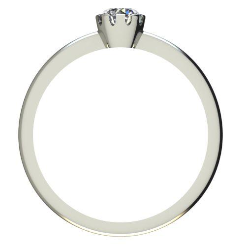 Годежен Пръстен бяло злато с диамант Flores 0,17 ct. 2159 b