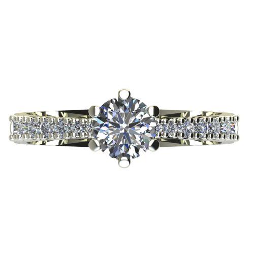 Годежен Пръстен бяло злато с диамант Nova 0,37 ct. 2177 a