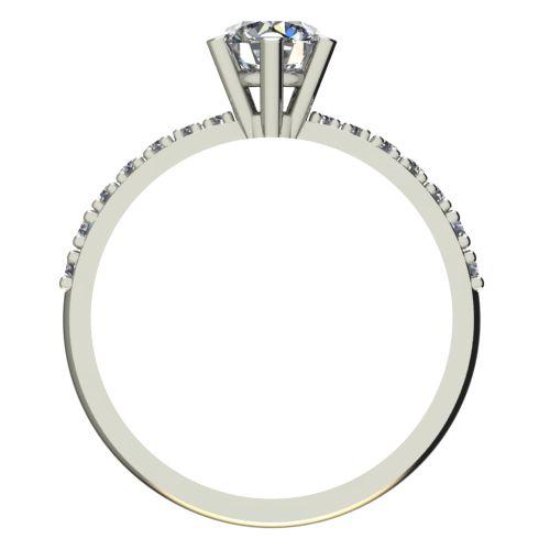 Годежен Пръстен бяло злато с диамант Nova 0,45 ct. 2178 b