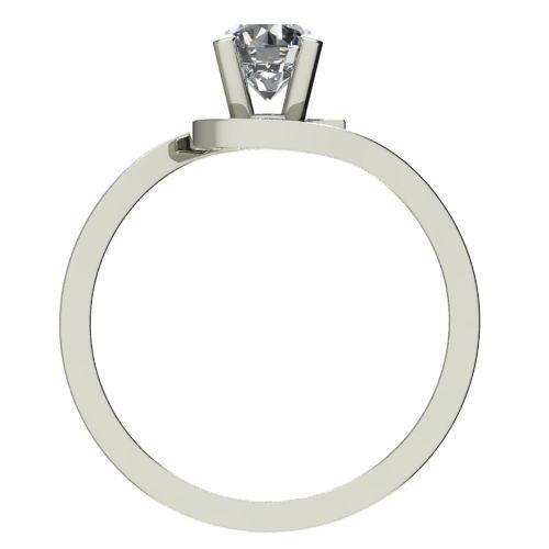 Годежен Пръстен бяло злато с диамант Close 0,25 ct. 2200 b