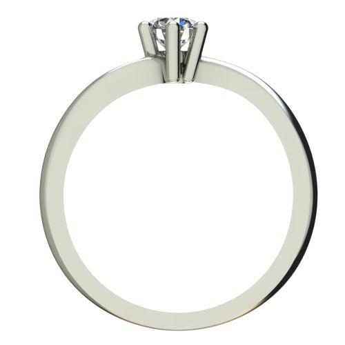 Годежен Пръстен бяло злато с диамант Eight 0,17 ct. 2210 b