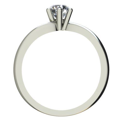 Годежен Пръстен бяло злато с диамант Eight 0,25 ct. 2211 b