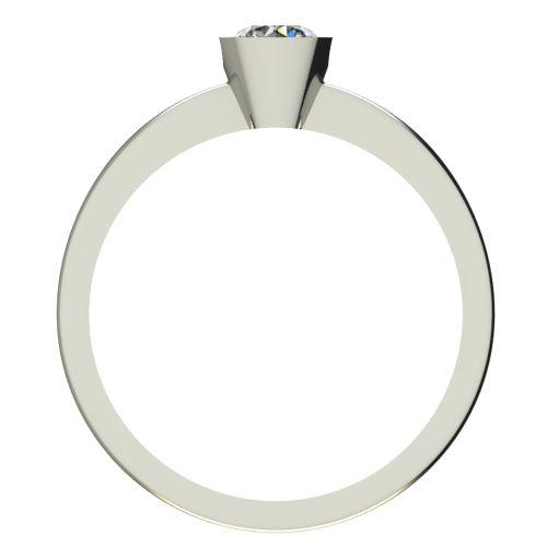 Годежен Пръстен бяло злато с диамант Safe 0,25 ct. 2183 b