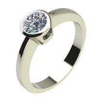 Годежен Пръстен бяло злато с диамант Safe 0,25 ct. 2194