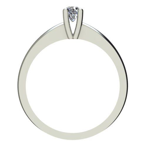 Годежен Пръстен бяло злато с диамант Cante 0,04 ct. 2227 b