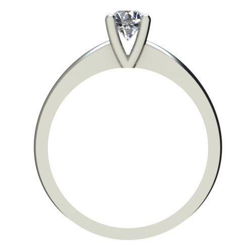 Годежен Пръстен бяло злато с диамант Cante 0,12 ct. 2229 b