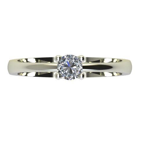 Годежен Пръстен бяло злато с диамант Cante 0,17 ct. 2230 a